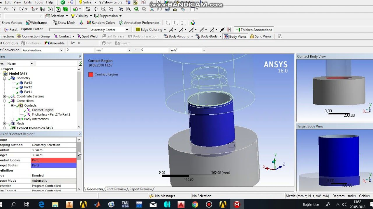 ANSYS Workbench Tutorial Explicit Dynamics Analysis pipe