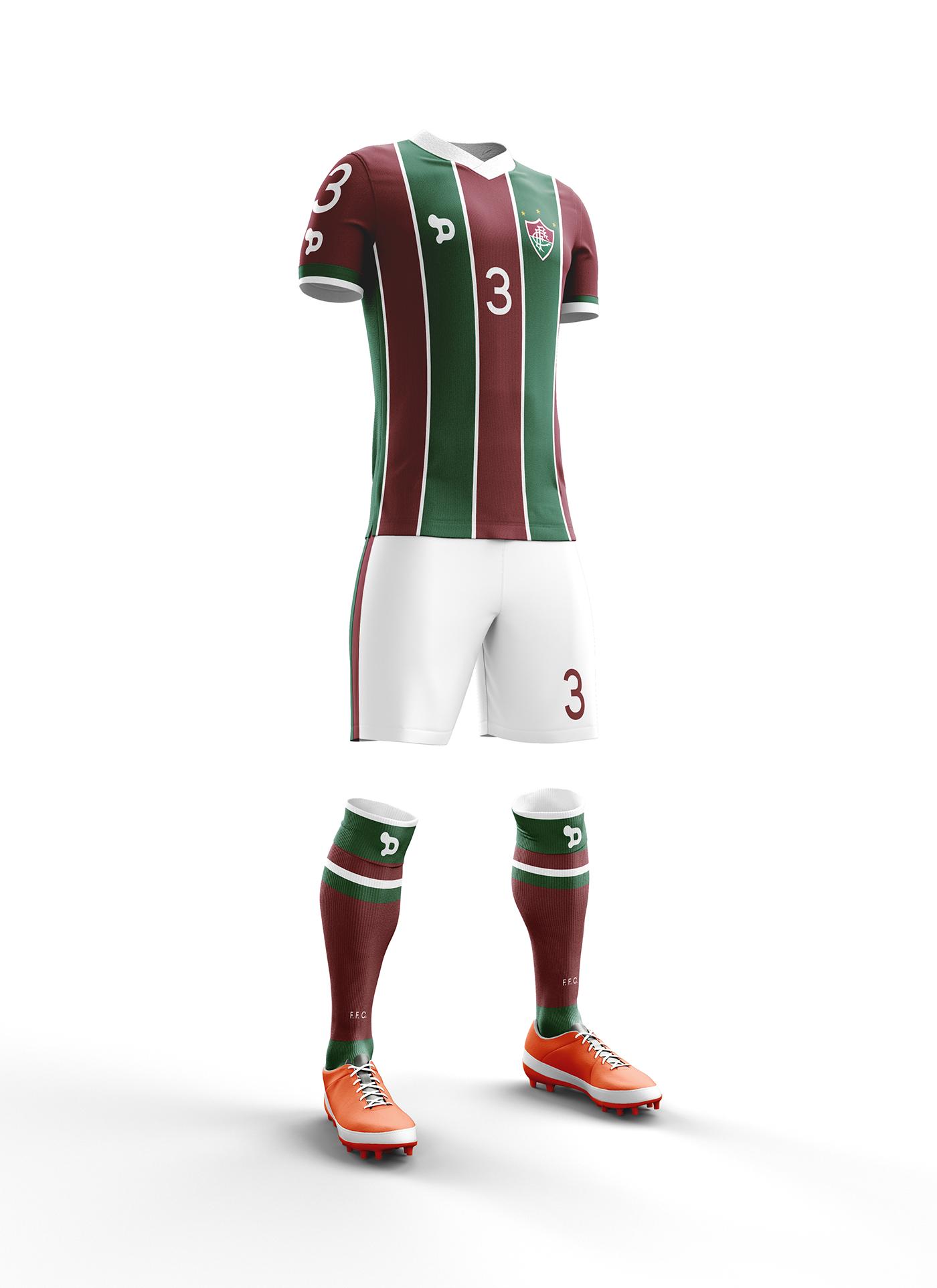 Proposta conceitual para o novo uniforme do Fluminense Football Club ... 34a0b0c8494f4