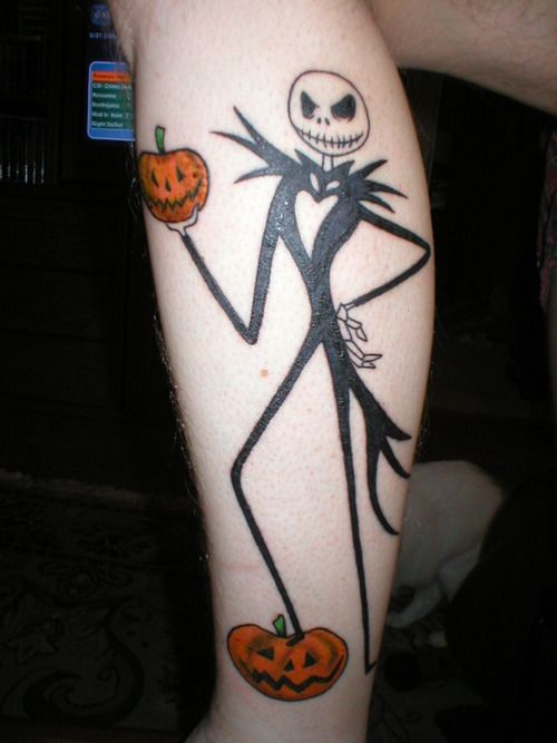 3667999cdcc pumpkin jack tattoo - Google Search | Ink me! | King tattoos ...