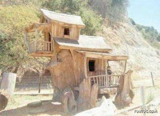 Very Unusual Houses Around The World Unusual Homes House Design Cool Tree Houses