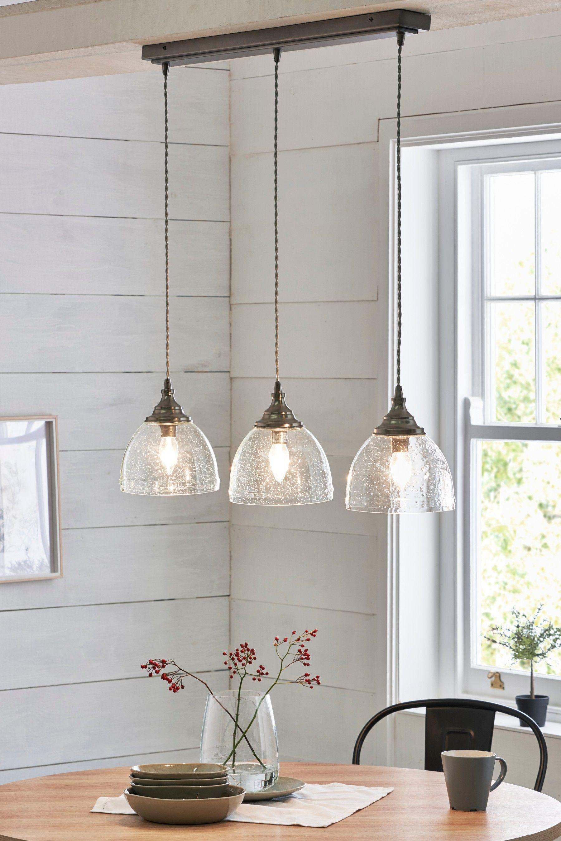 Buy Bergen 3 Light Linear Bar From The Next Uk Online Shop Hanging Lights Kitchen Kitchen Lights Uk Hanging Bar Lights