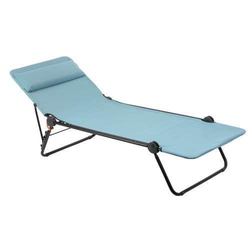 Sunside Folding Sunbed Sun Lounger Reclining Sun Lounger Contemporary Outdoor Furniture