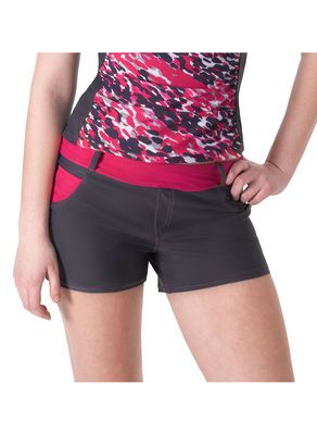 d162f9920a7 Swim Jean Short from Free Country in Steel & Pink. These may look like