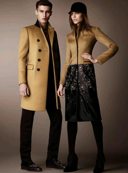 Christopher Bailey's pre fall 2013 collection for Burberry