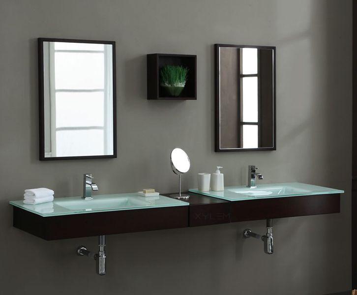 20 Amazing Floating Modern Vanity Designs | Mirror set ...