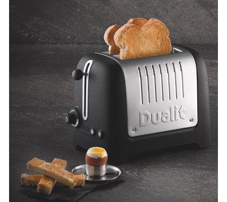 Dualit Lite Toaster Grille pain Stoneware Basalt