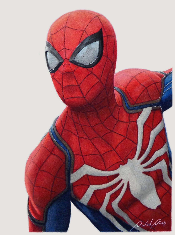 Print Spiderman A4 Size