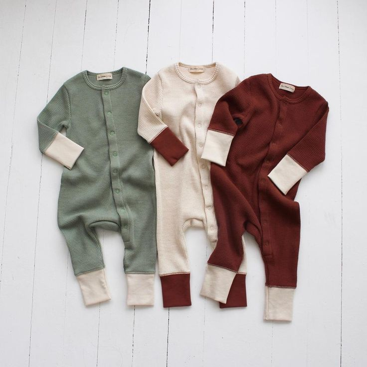 Fin  Vince Waffle Long John Spice  Wild Ivy Source by john26 neutral baby clothes