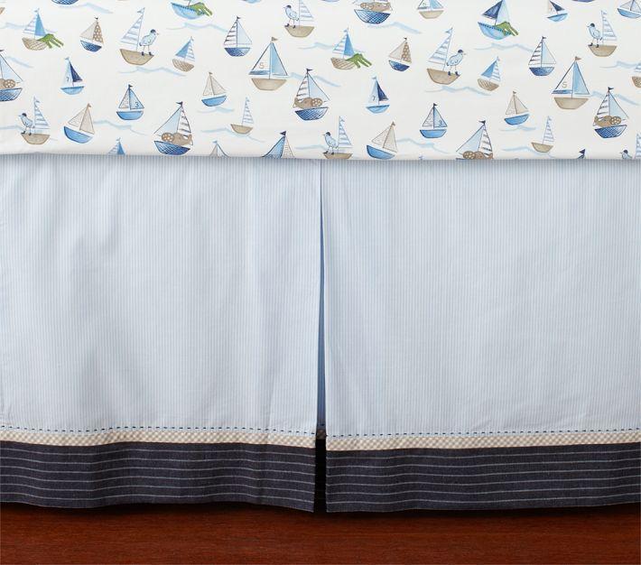 Row Your Boat Crib skirt
