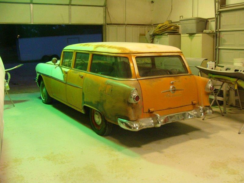 1956 pontiac wagon for sale | For Sale - Legens Hot Rod | 1954 ...