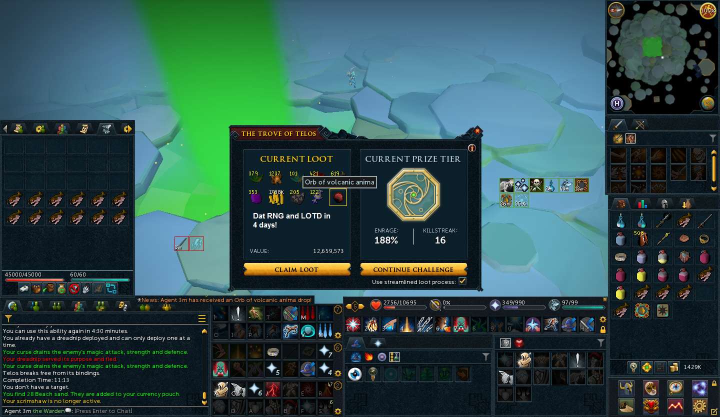 This Is My Volcanic Orb From Telos Last Year Lets See How You