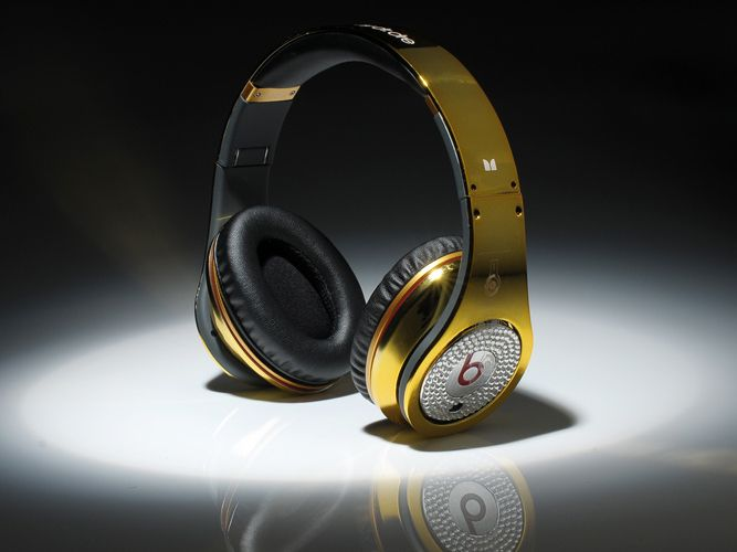 Monster Beats By Dr Pro Gold Diamond
