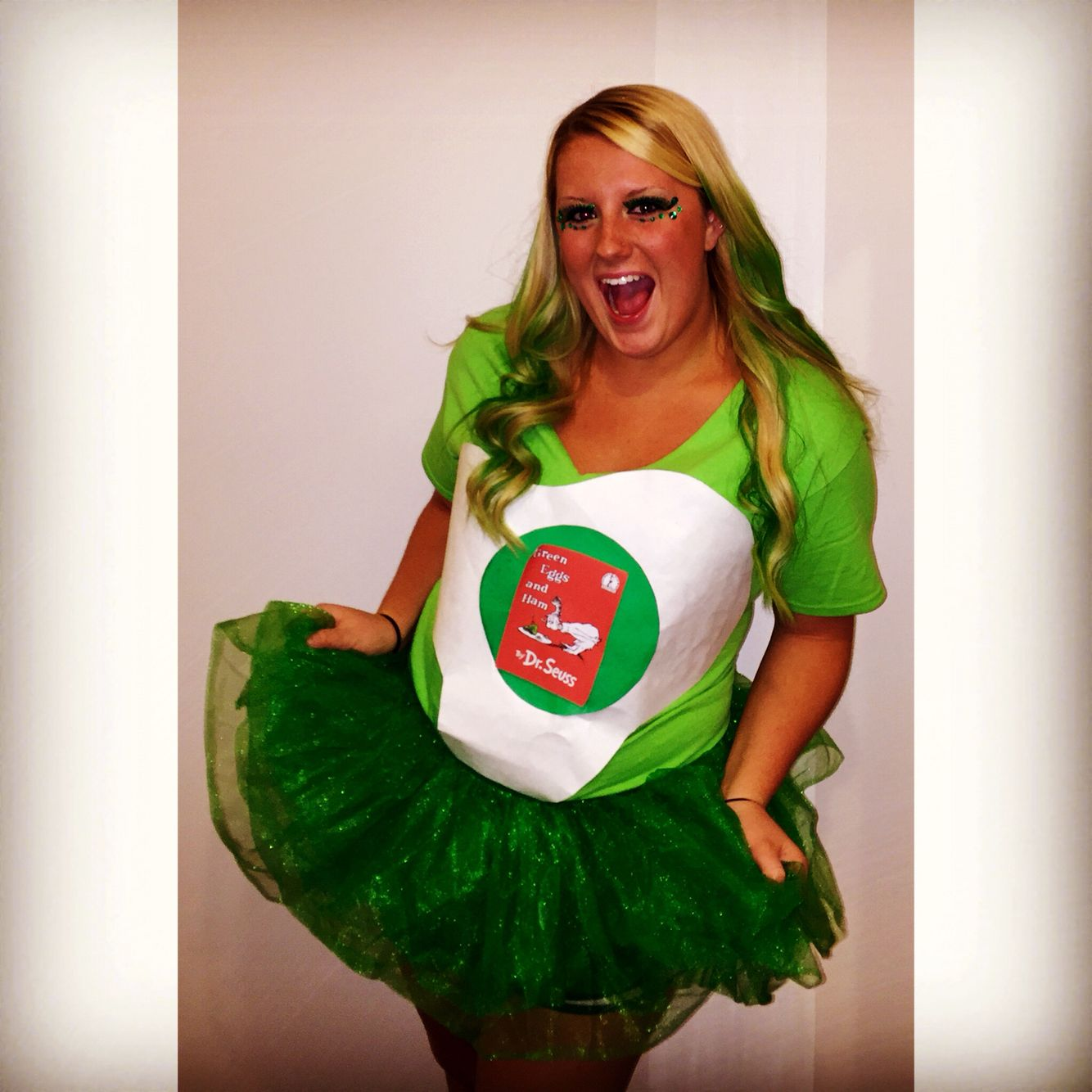 green eggs and ham costume! | dr. seuss' bday | pinterest | green
