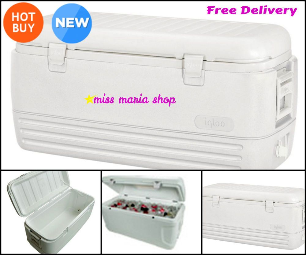 Cooler Large Igloo Cool Box Ice Chest 5 Days Portable Fridge 114 Ltr C&ing Out  sc 1 st  Pinterest & Cooler Large Igloo Cool Box Ice Chest 5 Days Portable Fridge 114 ... Aboutintivar.Com