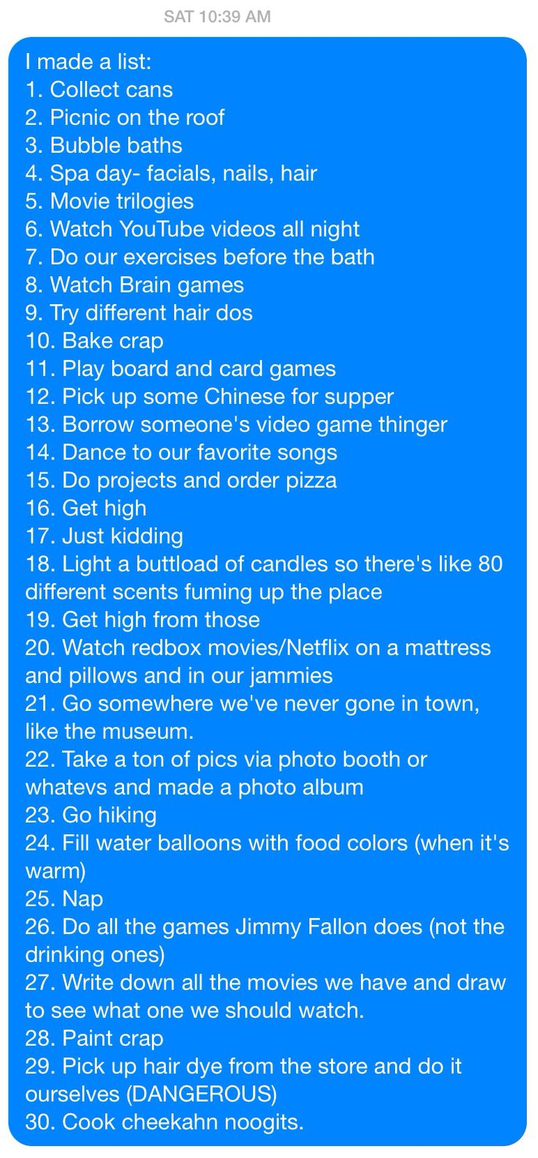 non girly things to do with your best friend bucket lists