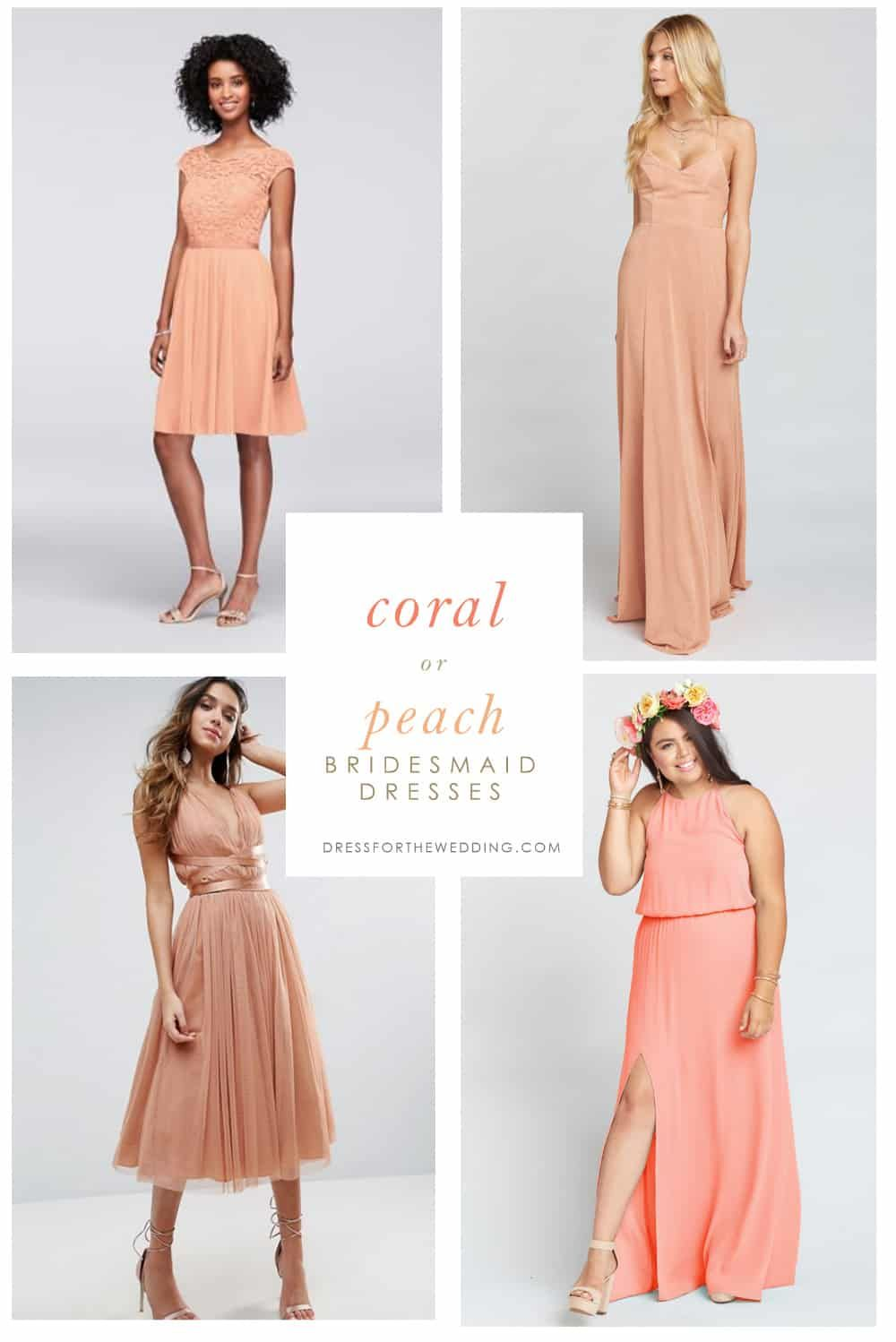 Coral Bridesmaid Dresses Dress For The Wedding Coral Bridesmaid Dresses Peach Bridesmaid Dresses Bridesmaid Dresses