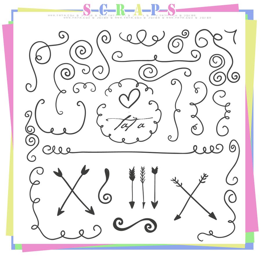 سكرابز سكرابز للتصميم سكرابز زخارف زخارف جديدة Scraps 2015 منتديات التحليه Vector Free How To Draw Hands Graphic Resources