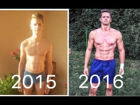 16 Year Old Incredible Body Transformation! - Calisthenics ...