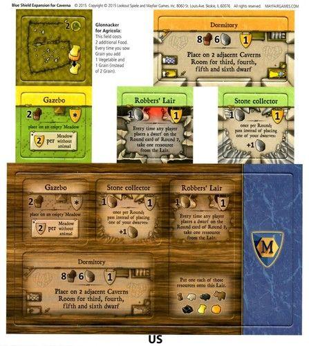 Caverna: Mini Expansion | Image | BoardGameGeek | Board Games ...
