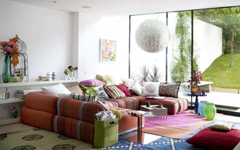 Ethnic Living Room, Moroccan