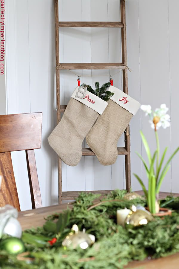 burlap stockings from shop24!! | Budget decorating, Perfectly ...