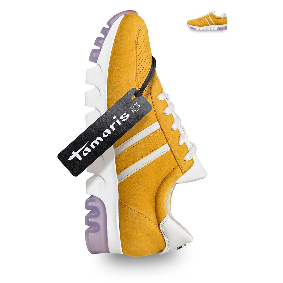 Ledersneaker | Sneaker gelb, Gelbe turnschuhe und Turnschuhe