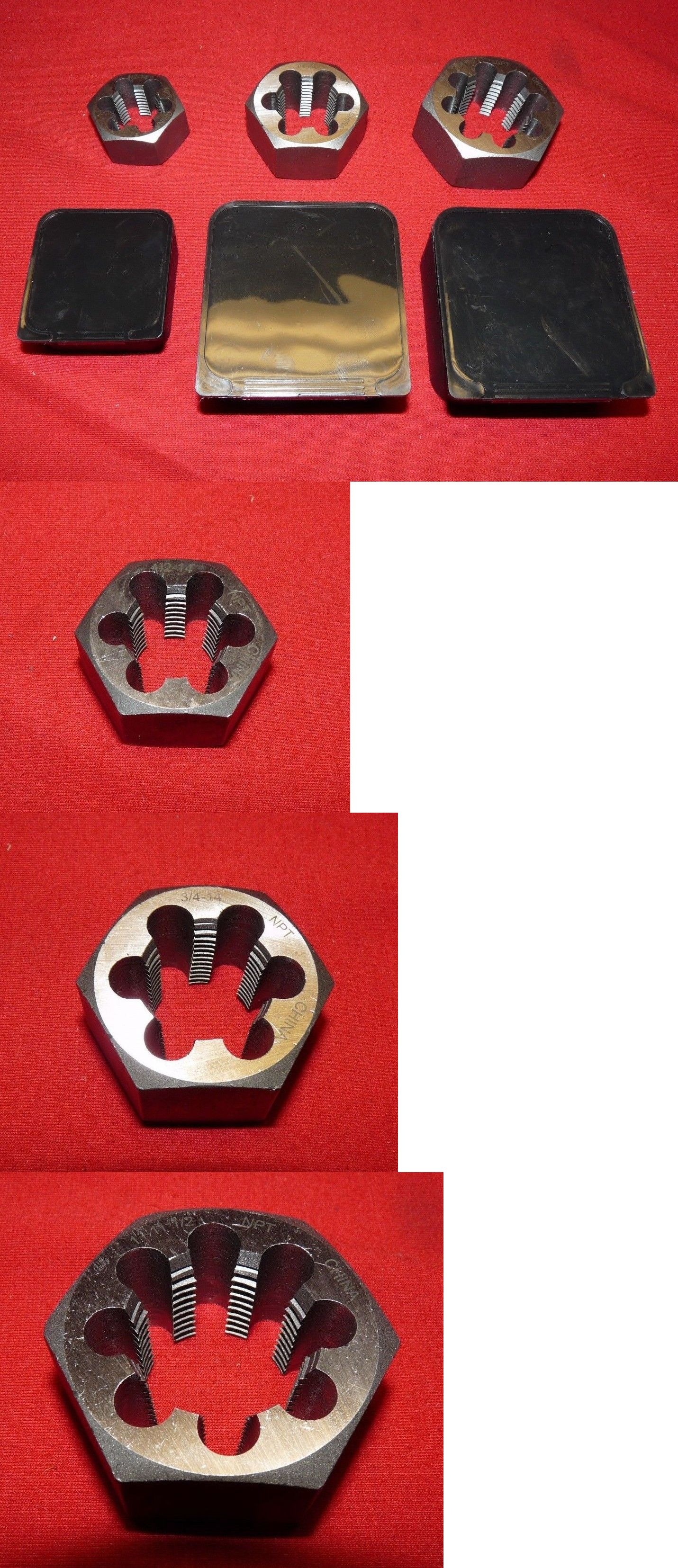 Metric tap and die tool kit set piece with case tekton
