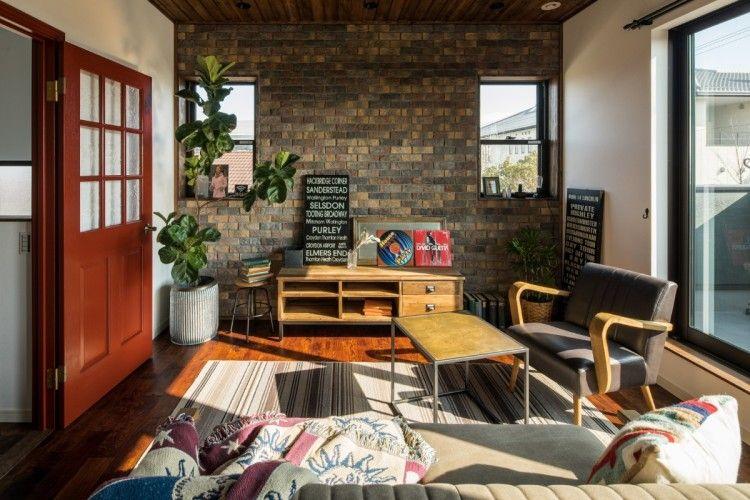アメリカンヴィンテージな家具が似合う家 家 シンプルな家 模様替え