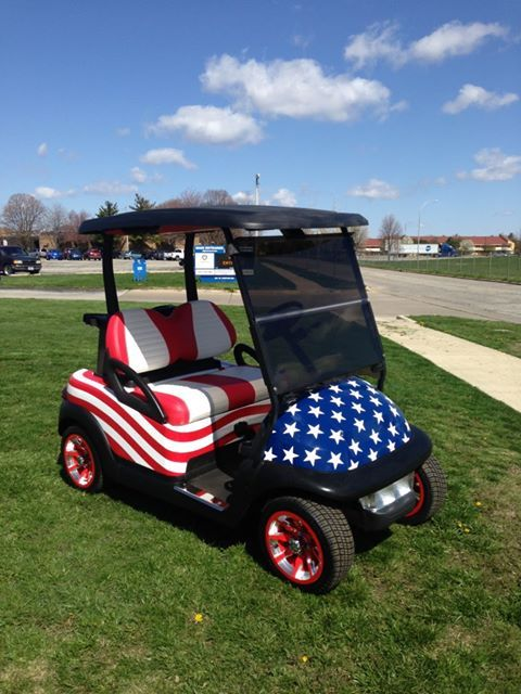 #America on the golf course