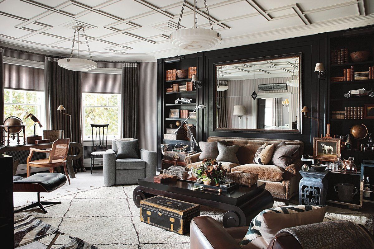 feature project hubert zandberg interiors - Chelsea Interior Designers