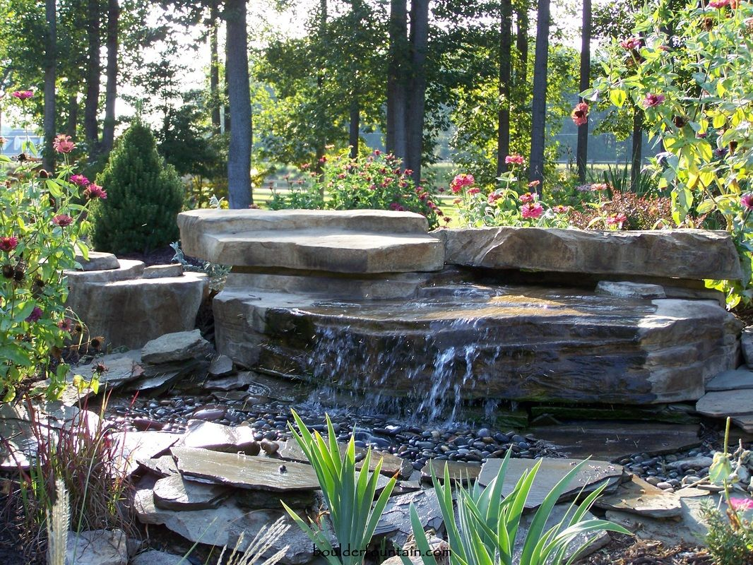 Santa Fe Pondless Waterfall. An Easy To Install DIY Pondless Waterfall.  Installs In Less
