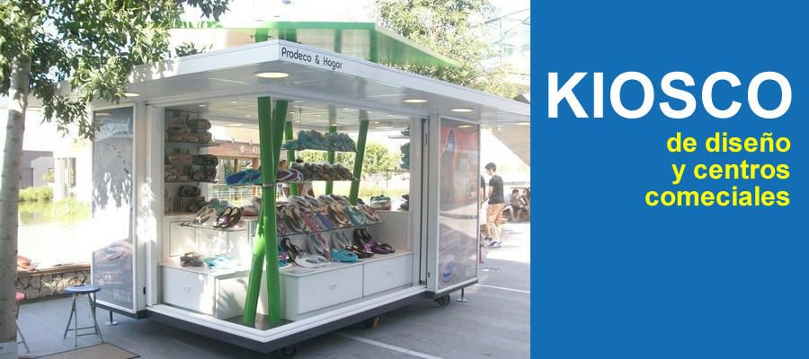 Quioscos de dise o y centros comerciales en granada for Disenos de kioscos