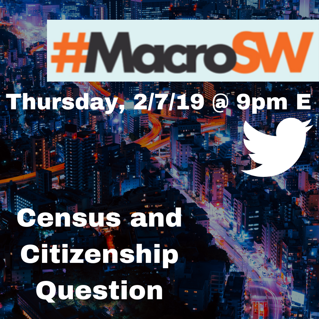 Macrosw Census And The Citizenship Question 2 7 19