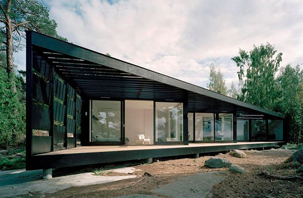 Modern Swedish Homes Scandinavian Summer Cottage Design