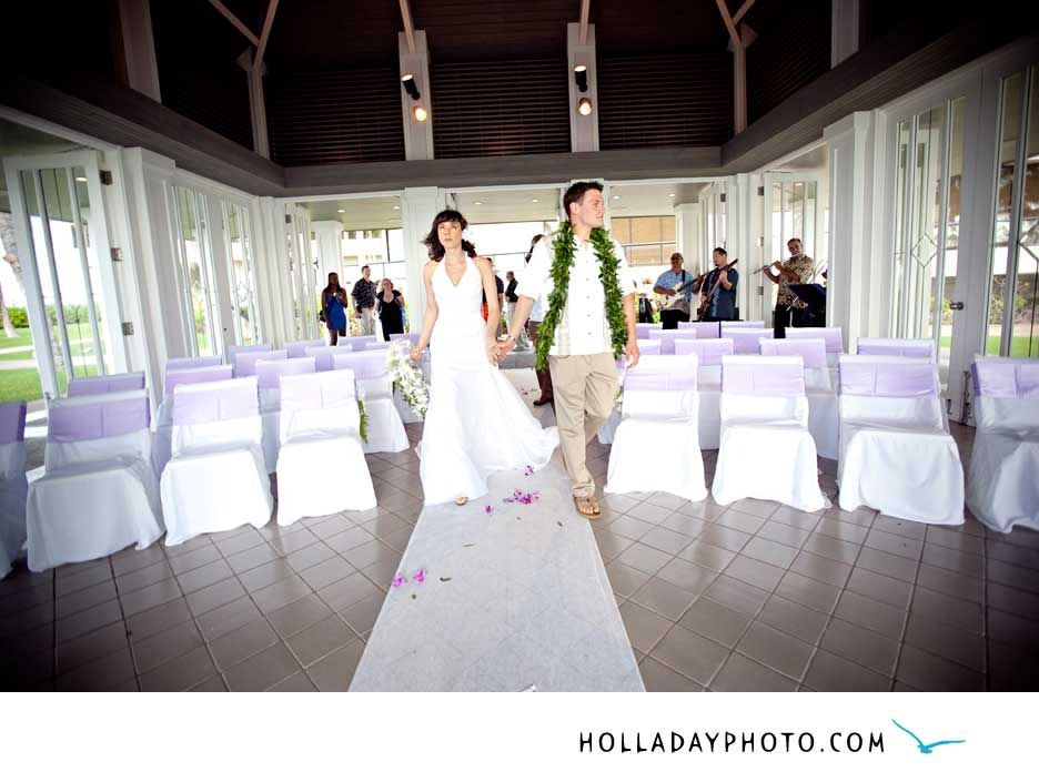 Ceremony Turtle Bay Resort Pavilion