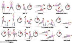 7-Minute Workout & A Little Yoga; find out about this high intensity work-out and its benefits