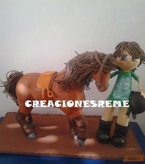 fofucha-fofucho caballo-creacionesreme-personalizadas-foami –perrito-muñecas artesanas-alcala de henares -fofuchas-medico-bailarina-escenari...