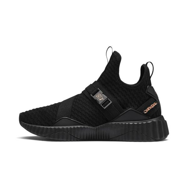 fd4a0b5d3 PUMA x SG Defy Mid Women's Sneakers | Puma Black-Rose Gold | PUMA Shoes |  PUMA United States