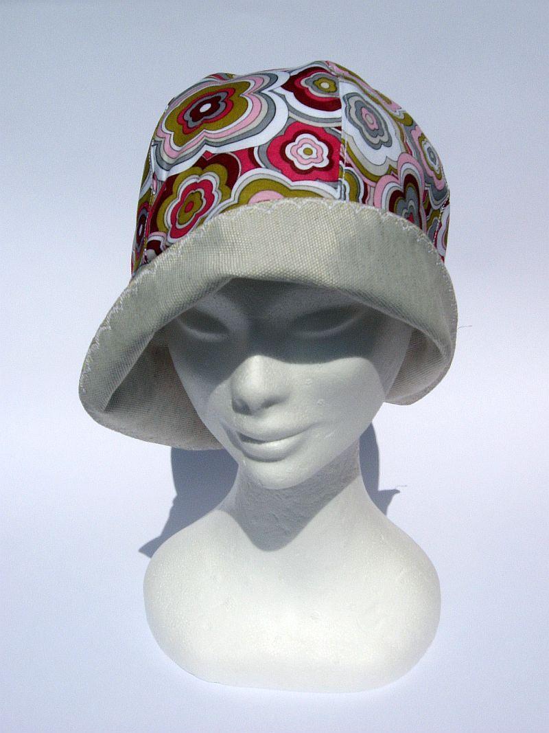 Goodtimes28 Kreative Fashion Bedruckte Damen Sommer Sonnenkappe Tuch Kopftuch Hut rose