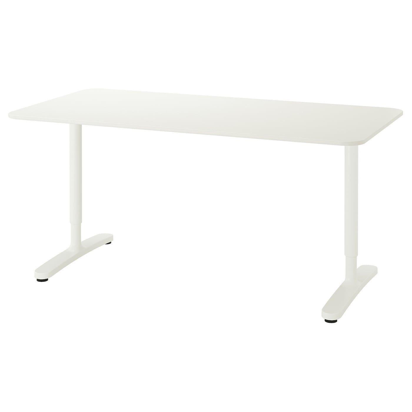 Bekant Desk White 63x31 1 2 Ikea In 2020 White Desks Ikea Bekant Ikea Bekant Desk