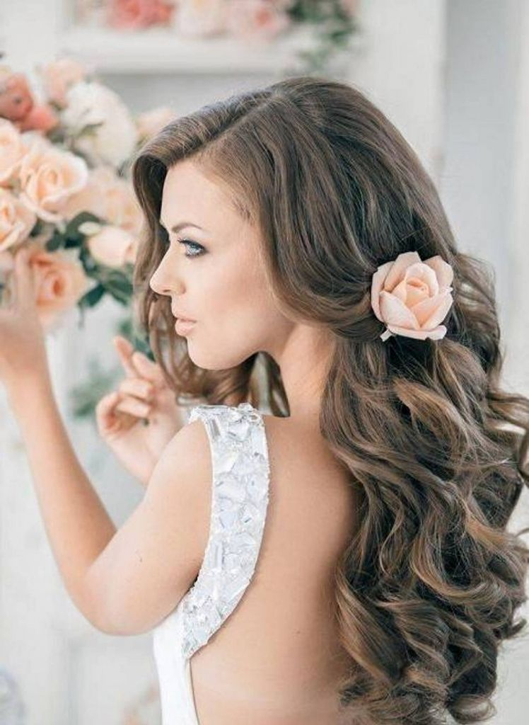Hochzeit Locken Frisur Frisuren Modelle Pinterest Locken