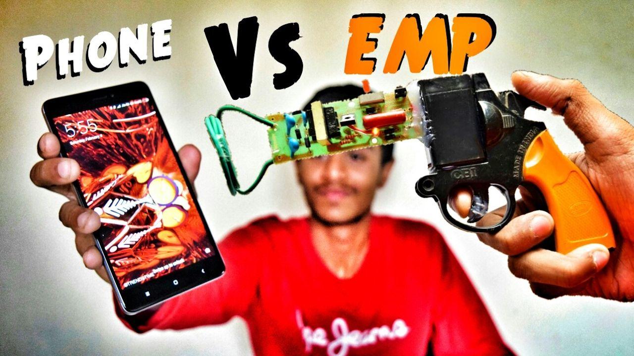 Emp Generator Gun Vs Smartphone Handheld Device Schematics Together With Schematic