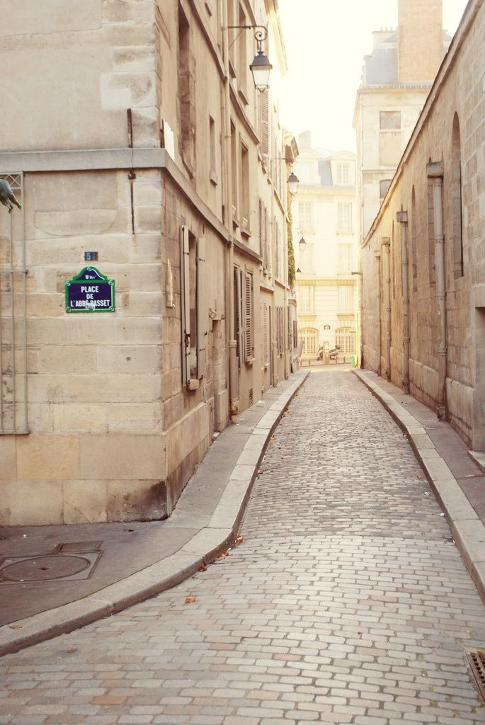 Back streets of Paris