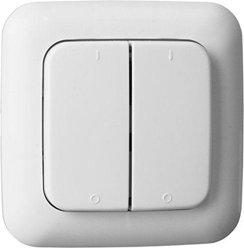 Smart Home Funk smartwares smarthome funk doppelwandschalter 2 kanal sh5 https