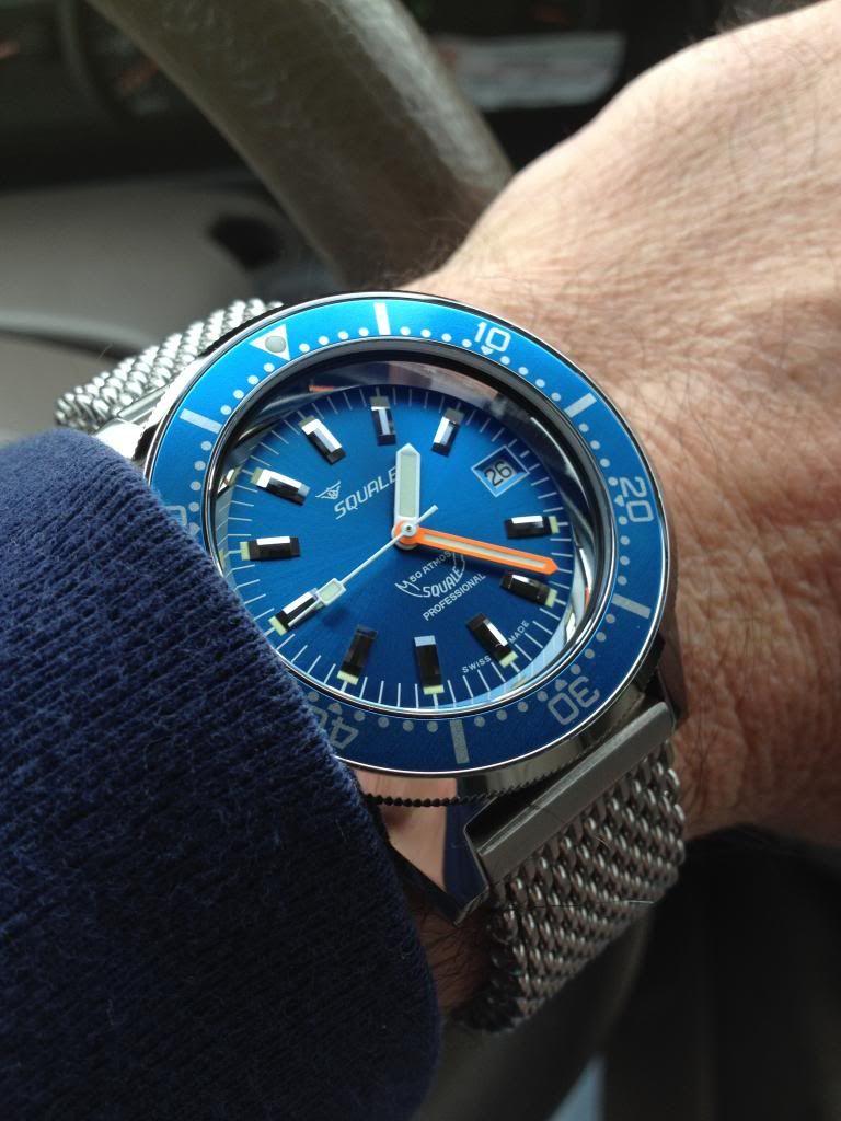Battle Of The Blue Squale Atmos 50 Blue Vs Halios Tropik