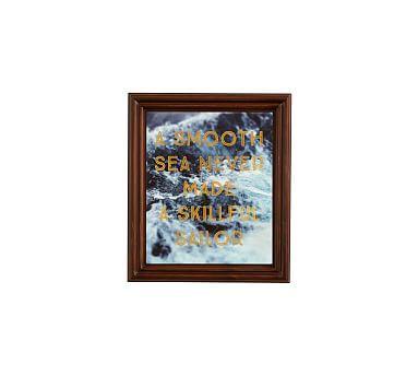 Sailor Framed Print by Alicia Bock, 11 x 13\