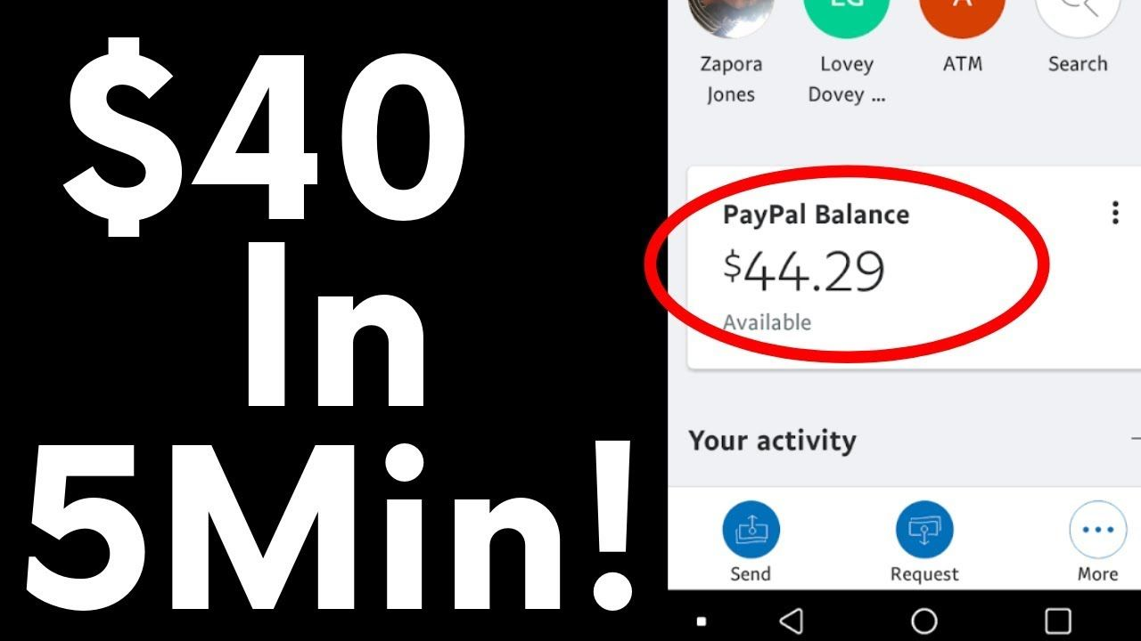 Earn Free PayPal Money In 5 Minutes By Posting On Social