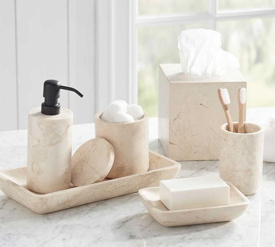 Photo of Silas Marble Bath Accessories