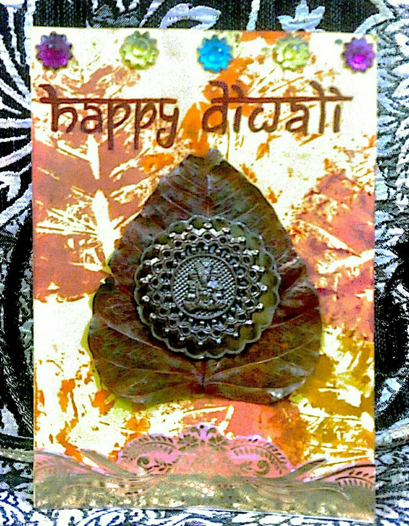 Handmade diwali greeting card by hp cards pinterest diwali handmade diwali greeting card by hp m4hsunfo