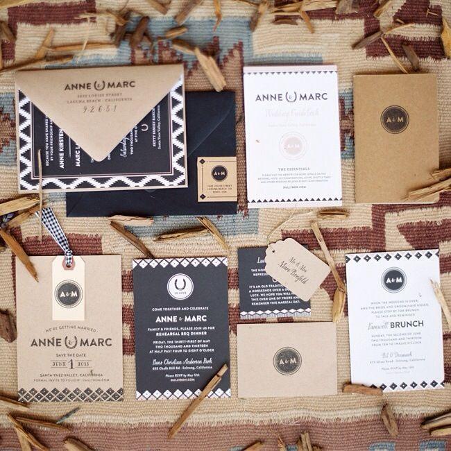 Ideas e inspiración para invitaciones y papelería de boda